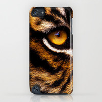 HIS ROYAL STRIPEYNESS iPhone Case by catspaws