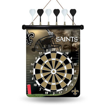 New Orleans Saints Magnetic Dart Board