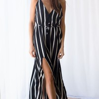 Casino Royale Maxi Black Double Stripe