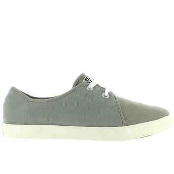 CREYONIG Converse All Star Riff Ox - Old Silver/Oyster Woven Canvas Low-Top Lace Sneaker
