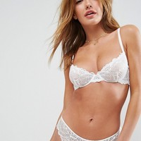ASOS Rita Basic Lace Mix & Match Underwire Bra at asos.com