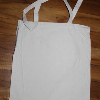 10 pack of Customizable 100 Percent Cotton Tote. A Canvas Look You Make Your Own. Print Anything From Simple Words To Full Pictures.