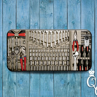 iPhone 4 4s 5 5s 5c 6 plus + iPod Touch 4th 5th 6th Generation Ultimate Man Case Cute Tough Guy Men Tool Kit Belt Wrench Box Funny Cover