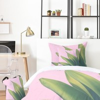 Catherine McDonald Pink Agave Bed In A Bag | DENY Designs Home Accessories