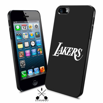 Lakers black iPhone 4s iphone 5 iphone 5s iphone 6 case, Samsung s3 samsung s4 samsung s5 note 3 note 4 case, iPod 4 5 Case