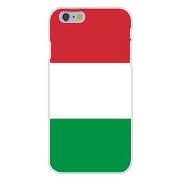 Apple iPhone 6 Custom Case White Plastic Snap On - Italy - World Country National Flags