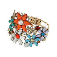 Flower Stone Clamp Bracelet - New In This Week - New In - Topshop USA