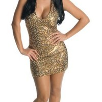 Jersey Shore Leopard Snooki Dress Costume