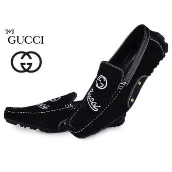 Gucci Men's Fashion Cool Edgy Casual Shoes