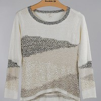 Mystree Pointelle Sweater