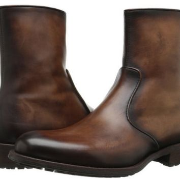 Shop Men's Leather Zip Boots on Wanelo