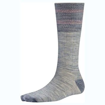 ONETOW Smartwool Metallic Striped Cable Sock - Women's