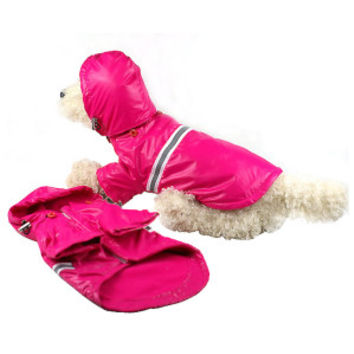 Pet Life Reflecta-Sport Dog Rainbreaker With Removable Hood | Sweaters & Coats | PetSmart