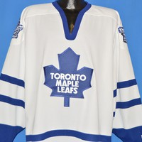 90s Toronto Maple Leafs Hockey Jersey t-shirt Extra Large
