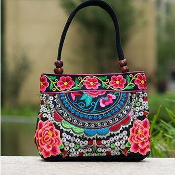 525942783e99 Price-promotion Women  handbag!New nice Embroidered Lady bags na