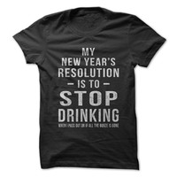 Drinking New Years Resolution