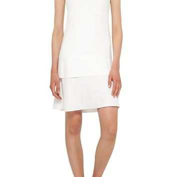 Akris punto Cutout Dot Dress | Nordstrom