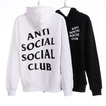 """Anti Social Social Club""  Cotton Fashion Hoodies [103862829068]"