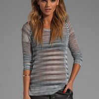 rag & bone/JEAN Allgauer Raglan Pullover in Grey from REVOLVEclothing.com