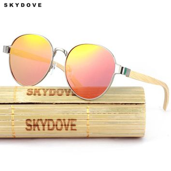 Bamboo Sunglasses 2018  Polarized  Sunglasses Women Mirror  Sun Glasses,men..