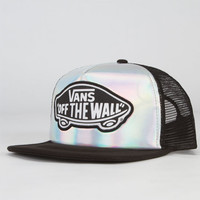 Vans Attendance Womens Trucker Hat Iridescent One Size For Women 22862896201
