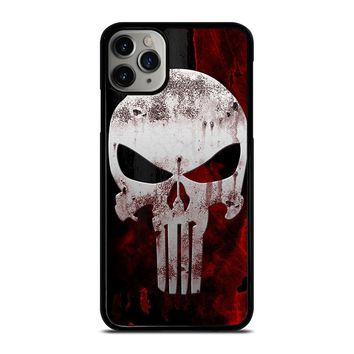 THE PUNISHER SKULL iPhone Case Cover