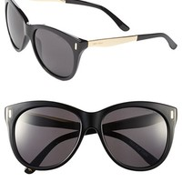 Women's Jimmy Choo 'Ally/S' 56mm Retro Sunglasses