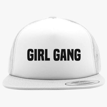 Girl Gang Foam Trucker Hat
