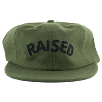 Raised by Wolves Raised Polo Cap Olive