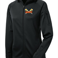 Williamsville East Womens Lacrosse Sport-Tek® Ladies Tech Fleece Full-Zip Hooded Jacket