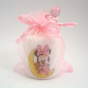 10 Customized Minnie Mouse party favors