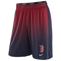 Nike Boston Red Sox 2014 Cage Performance Shorts - Red/Navy Blue