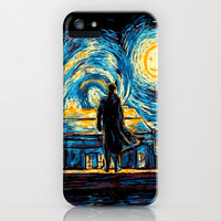 SHERLOCK HOLMES WHOLOCK DR WHO TARDIS iPhone & iPod Case by BESTIPHONE5CASESHOP