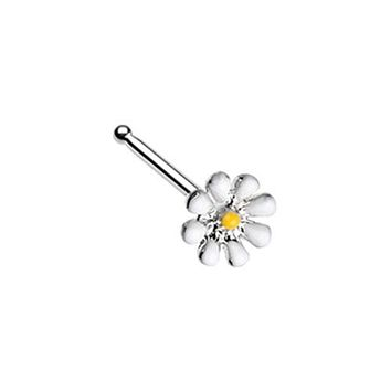 Dainty Daisy Enamel WildKlass Nose Stud Ring