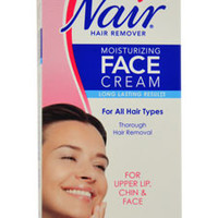 Moisturizing Face Cream For Upper Lip Chin And Face Hair Removal Cream Nair