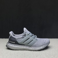 """Ready Stock"" Adidas Ultra Boost 3.0 ""Grey Four"" Men Women Sneaker"