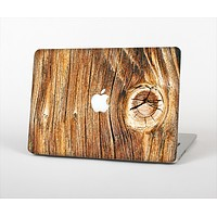 The Knobby Raw Wood Skin Set for the Apple MacBook Pro 15""
