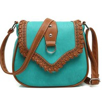 Women Messenger Bag Hollow Out bolsa feminina bolso mujer Leather Shoulder Bag Saddle Crossbody Bags for Women S-132