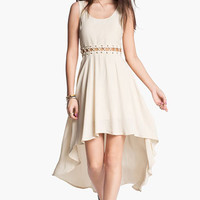 Lush High/Low Dress (Juniors) | Nordstrom