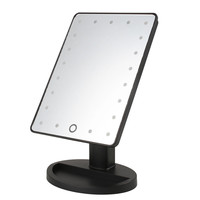Beauty Cosmetic Make Up Illuminated Desktop Stand Mirror with 21 LED Light
