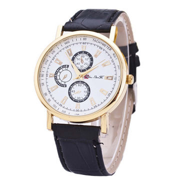 Unisex Classic Leather Watch Best Christmas Gift