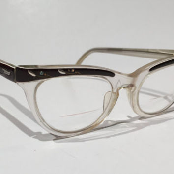 77c2495bfc Shop Vintage 1950s Eyeglasses on Wanelo