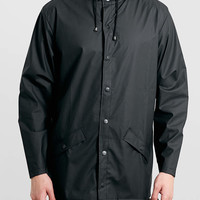 Rains Black Waterproof Jacket - Topman