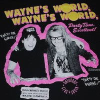 ORIGINAL VINTAGE WAYNES WORLD T- SHIRT 1991 XL on eBay!