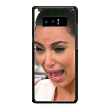 Kim Kardashian Ugly Cry Samsung Galaxy Note 8 Case