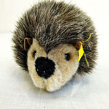 Vintage Steiff Little Hedgehog Friend Plush