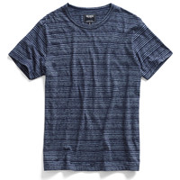 Navy Striped Crew T-Shirt