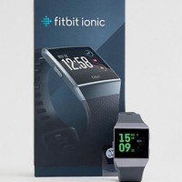Fitbit Ionic Smart Watch in Black at asos.com