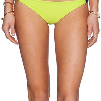 Basta Surf Zunzal Reversible Bikini Bottom in Lime