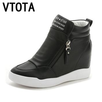 VTOTA  High Heels Shoes Woman Fashion Fringe Women Sneakers Loafers Platform Shoes Zapatos Mujer Shoes Female  Autumn Shoes
